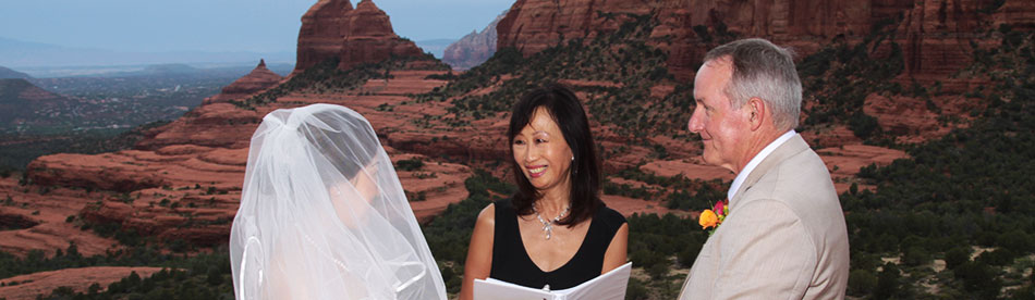 Intimate Sedona Weddings